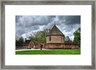 Colonial Williamsburg 1 Framed Print by Todd Hostetter