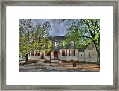 Colonial Williamsburg  2 Framed Print by Todd Hostetter