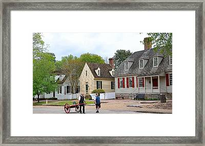 Colonial Williamsburg 4 Framed Print by Todd Hostetter