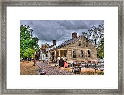 Colonial Williamsburg 5 Framed Print by Todd Hostetter