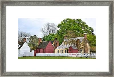 Colonial Williamsburg 6 Framed Print by Todd Hostetter