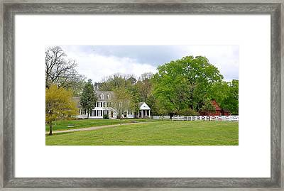 Colonial Williamsburg 7 Framed Print by Todd Hostetter