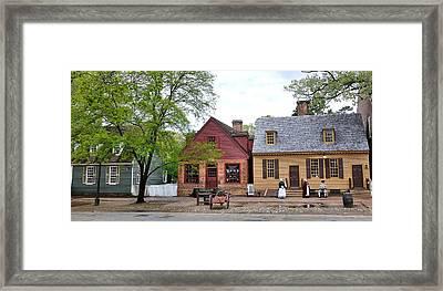 Colonial Williamsburg 9 Framed Print