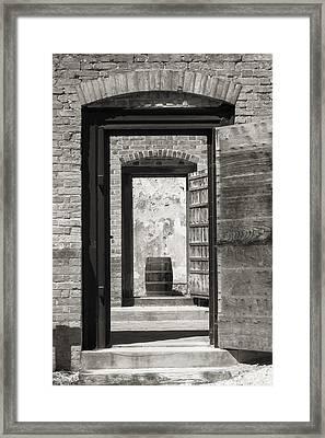 Colonial Williamsburg - Public Goal Framed Print