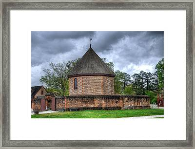 Colonial Williamsburg  Framed Print by Todd Hostetter