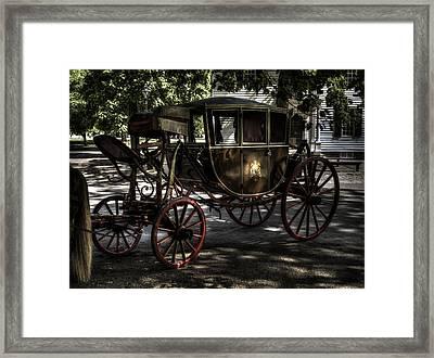Colonial Williamsburg  V12 Framed Print