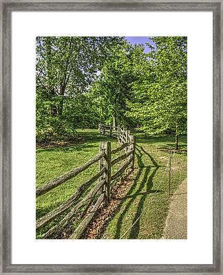 Colonial Williamsburg  V13 Framed Print