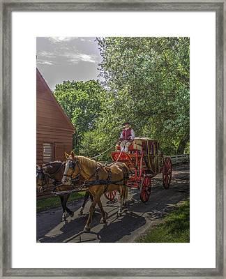 Colonial Williamsburg  V4 Framed Print