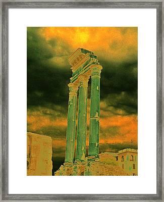 Colonna Framed Print by Yury Bashkin