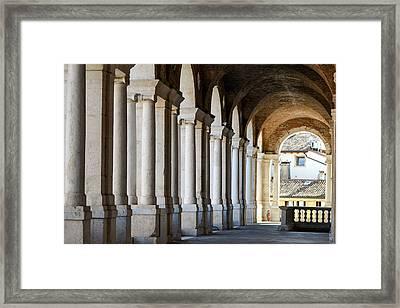 Colonnade  Framed Print by Bill Mock
