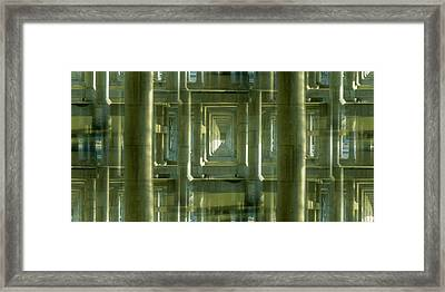 Colonnade Park Seattle Framed Print by Tim Allen