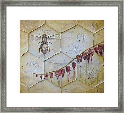 Colony Collapse Disorder Framed Print by K Llamas