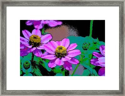 Color 79 Framed Print by Pamela Cooper