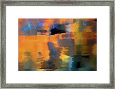 Color Abstraction Lxxii Framed Print