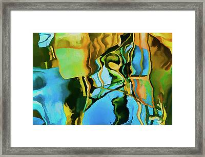 Color Abstraction Lxxiii Framed Print