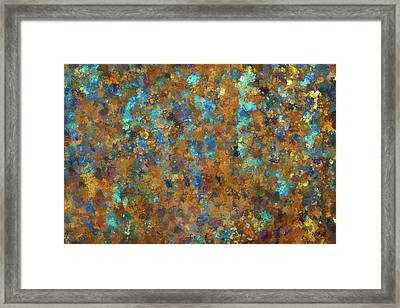 Color Abstraction Lxxiv Framed Print