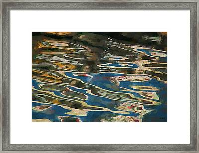 Color Abstraction Lxxv Framed Print