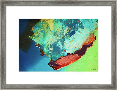 Color Abstraction Lxxvi Framed Print