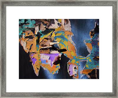 Color Abstraction Lxxvii Framed Print