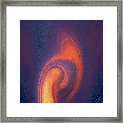 Color Abstraction Xlii Framed Print by David Gordon