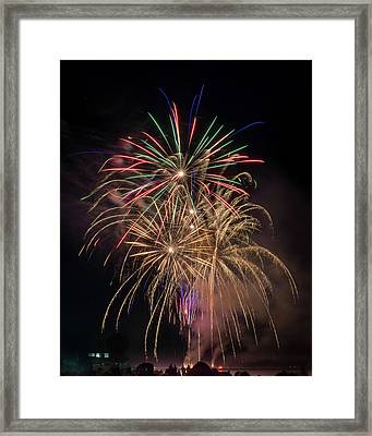 Color And Chaos Framed Print