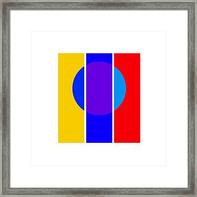 Color And Form Framed Print by Charles Stuart