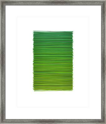 Color And Lines 2 Framed Print