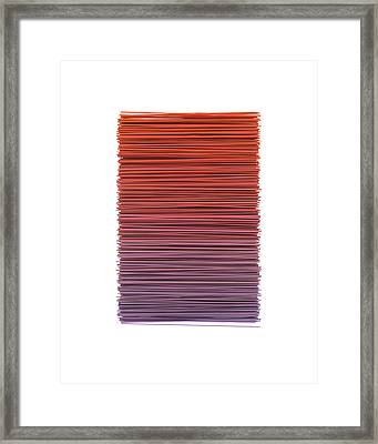 Color And Lines 3 Framed Print by Scott Norris