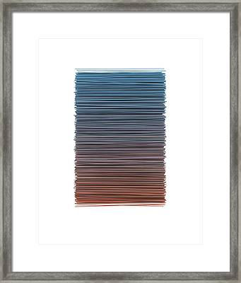 Color And Lines 4 Framed Print