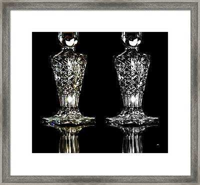 Color And Monochrome  Framed Print by Will Borden