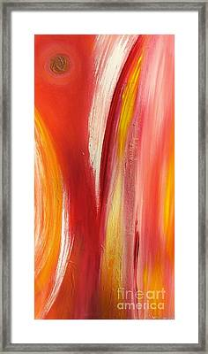 color and passion B Framed Print by Mimo Krouzian