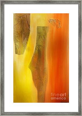 color and passion C Framed Print by Mimo Krouzian