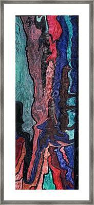 Color Blend Framed Print by Wytse