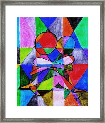 Color Blind Framed Print by Thomas J Norbeck
