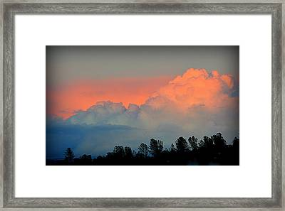 Framed Print featuring the photograph Color Burst by AJ Schibig