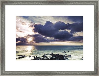 Color Burst II Framed Print