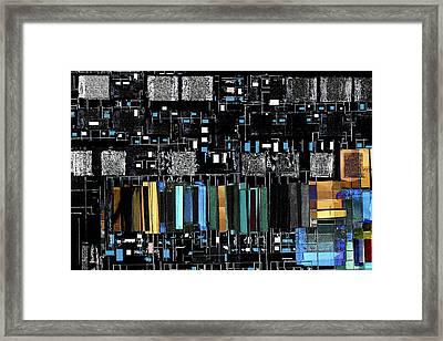 Color Chart Framed Print