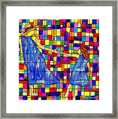 Color Coded Memories Framed Print by Cynda LuClaire