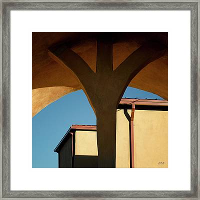 Framed Print featuring the photograph Color Composite Iv by David Gordon