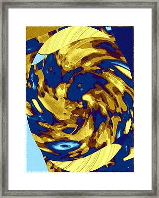 Color Coordinated 2 Framed Print by Will Borden