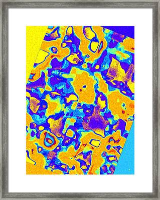 Color Coordinated 3 Framed Print by Will Borden