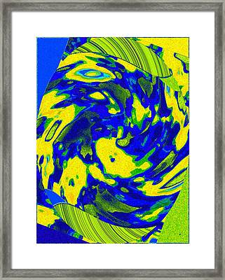 Color Coordinated 4 Framed Print by Will Borden