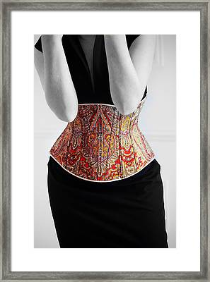 Framed Print featuring the photograph Color Corset by Andrey  Godyaykin