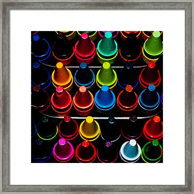 Color Creation Framed Print by Colleen Coccia