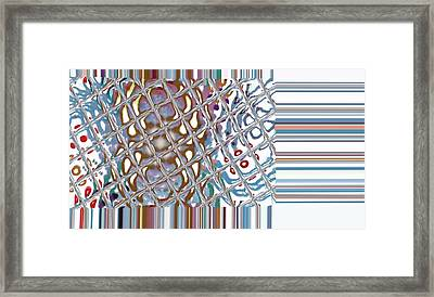 Color Crystal Framed Print by Thomas Smith