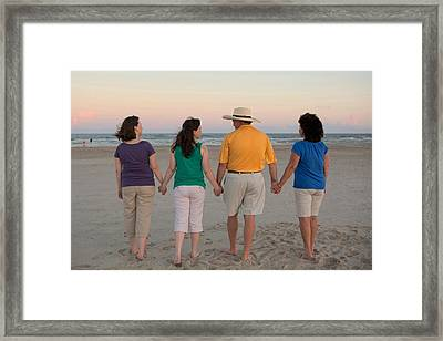 Color Enhanced Framed Print by Betty Northcutt