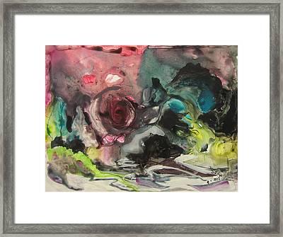 Color Fever 120 Framed Print by Seon-Jeong Kim