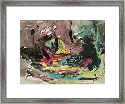 Color Fever 136 Framed Print by Seon-Jeong Kim