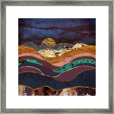 Color Fields Framed Print by Katherine Smit
