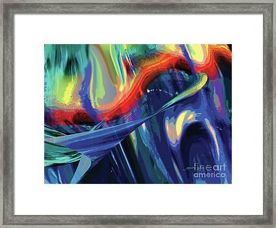 Color Flight Framed Print